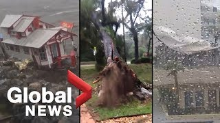 Hurricane Michael: 3rd strongest storm to ever hit continental U.S. leaves trail of destruction