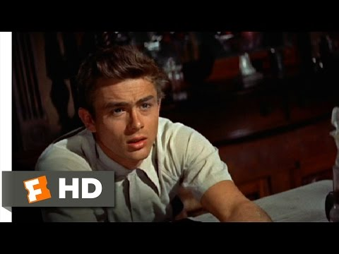East of Eden 110 Movie CLIP  Talk to Me, Father 1955 HD