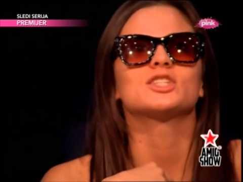 Milica Pavlovic - Skrivena kamera - Ami G Show - (TV Pink 2014)