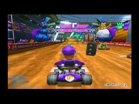 Mario Kart Arcade GP2 - Attract Mode