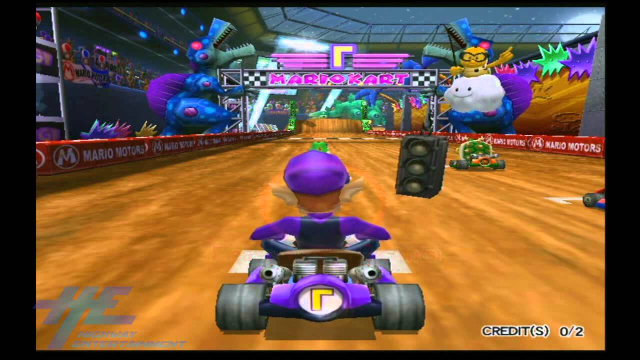Mario Kart Arcade GP2 - Attract Mode