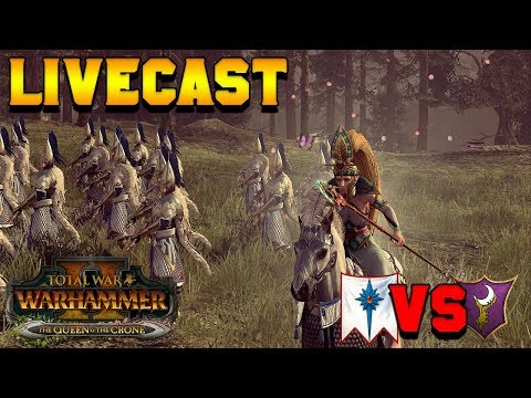 DLC Early Access!! Turin (High Elves) vs. JonTaun (Dark Elves) | The Queen & The Crone DLC