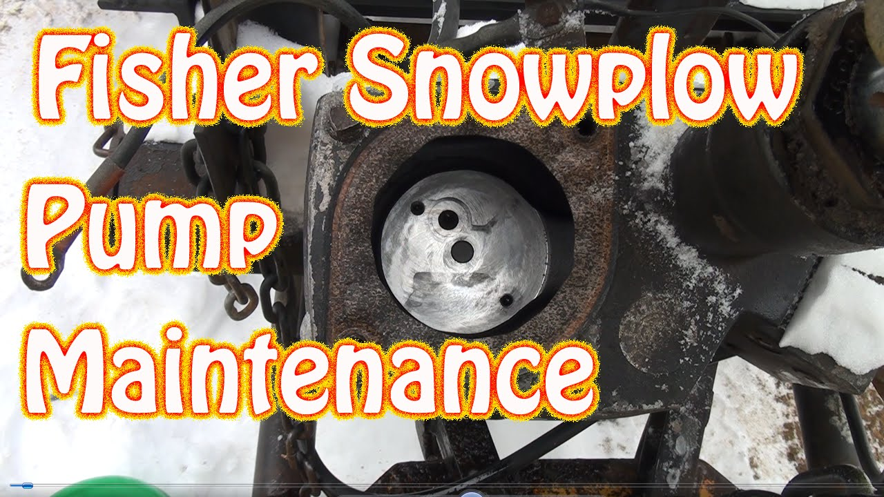 diy fisher minute mount snow plow maintenance clogged screen fluid change moves slowly [ 1280 x 720 Pixel ]