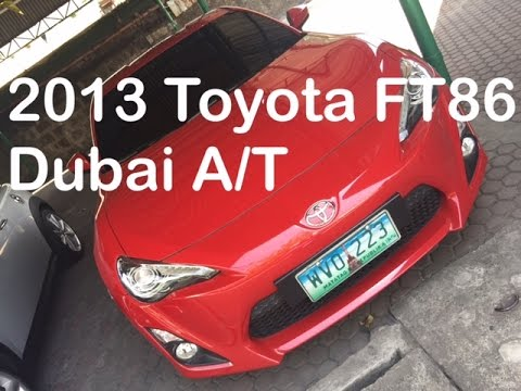 2013 Toyota FT 86 A/T For Sale PHP 1.85 Million by Manila Luxury Cars