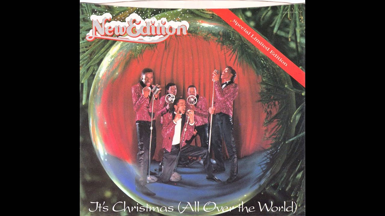 "New Edition – ""It's Christmas (All Over The World)"" (MCA) 1985 ..."