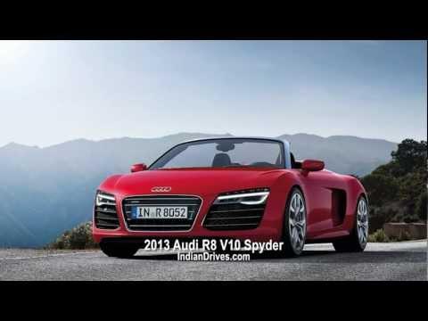 2013 Audi R8 V10 Spyder - Interior & Exterior