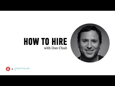 How to Hire: A Chat with Greenhouse CEO Daniel Chait