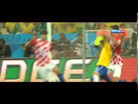 Brazil FIFA World Cup 2014 - Fred Dive Penalty Parody