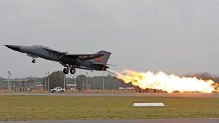 F111 Final Dump & Burn - Williamtown Airshow 2010