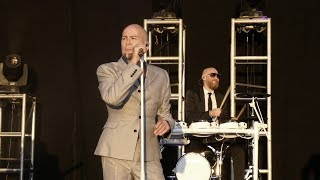 The Human League - Don't You Want Me (Live) After Racing at Bath Racecourse 2019