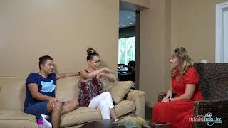 Интервью для Miami Baby.KZ от Армана и Аяулым   Роды в Майами
