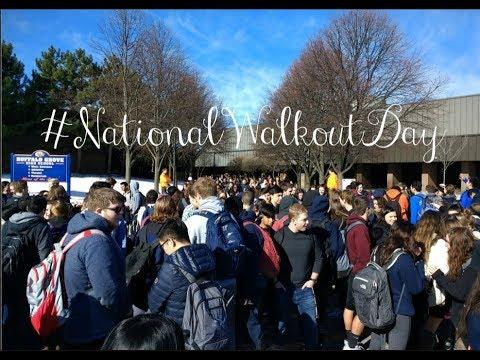 #NationalWalkoutDay at Buffalo Grove High School