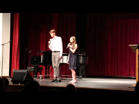 "Ryan and Joslyn singing ""Don't Go Breakin' My Heart"" at Patriots Got Talent 2015"
