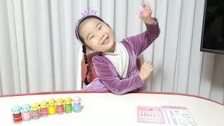 키즈네일 매니큐어 색상 소개 중  안전한어린이화장품