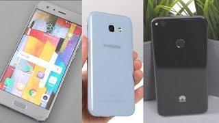 Die BESTEN Mittelklasse Smartphones 2017 unter 400€!