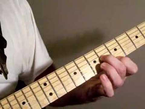 Easy Blues Rock Guitar lick   (Memphis   Tenn. )