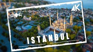 Fascinating aerial views of Istanbul | 4K drone video