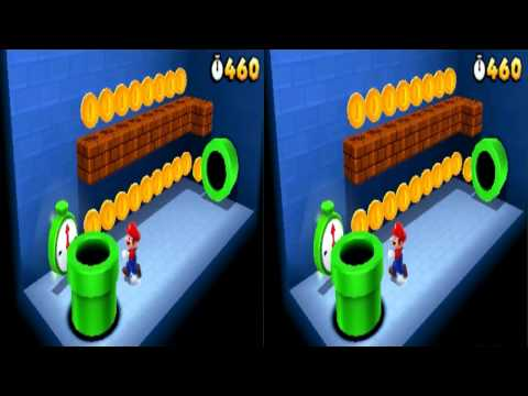 Super Mario 3D Land Stereoscopic 3D Capture