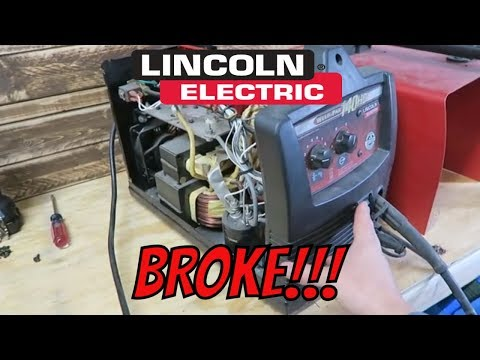TG Lincoln Electric 140HD Welder Repair