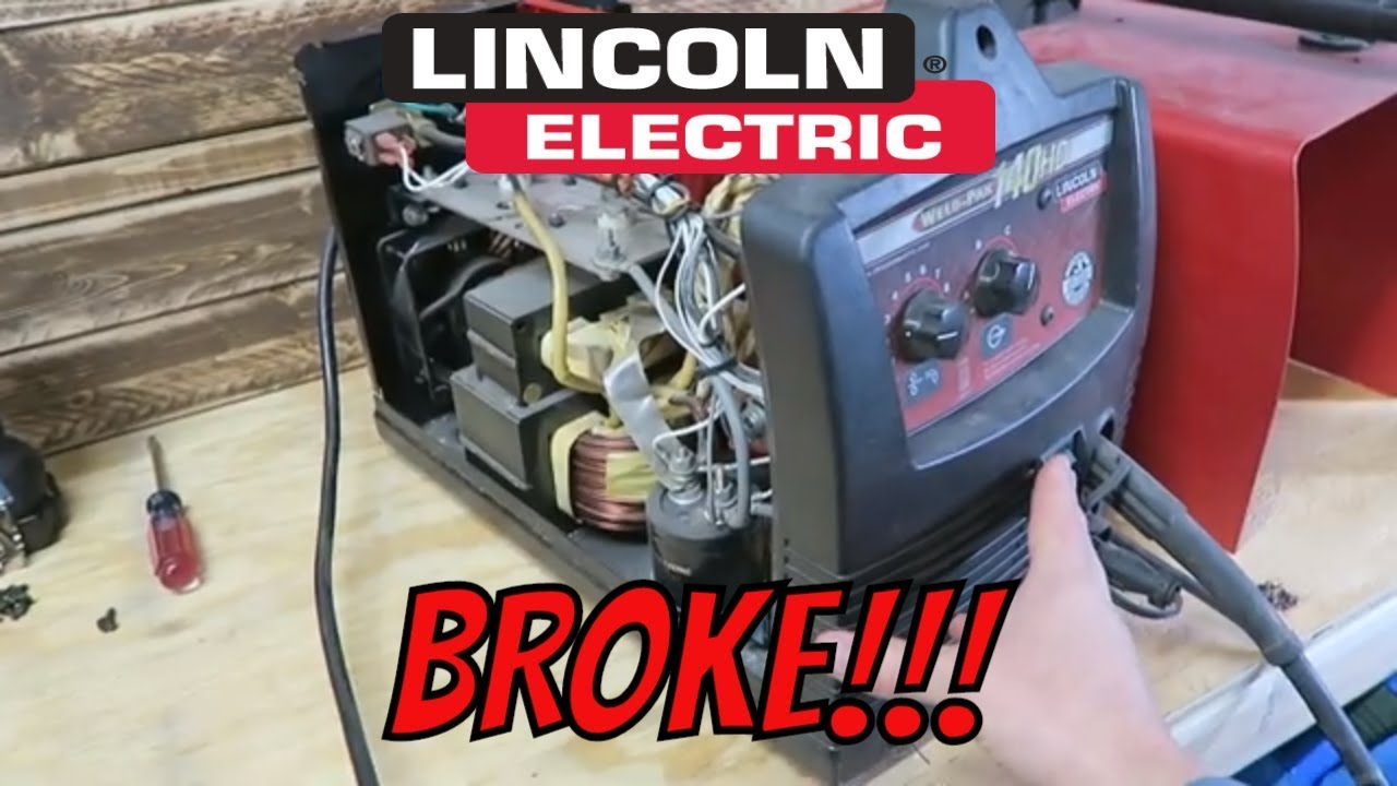 Lincoln Electric 140hd Welder Repair Youtube