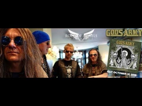 """God's Army (ex-Helloween/Firewind) debut new song """"free Your Mind"""" off new album Demoncracy"""