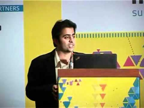 Rajiv Dingra, WAT Consult at the IndiaSocial Summit 2012