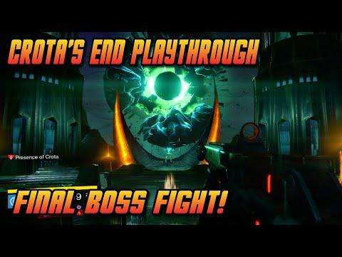 """Destiny - """"Final Boss"""" Fight - Crota's End Raid (Dark Below DLC)"""