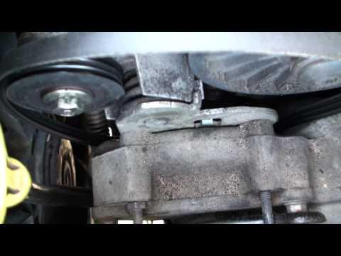 Water Pump Belt Replacement Oldsmobile Aurora 4.6 Northstar