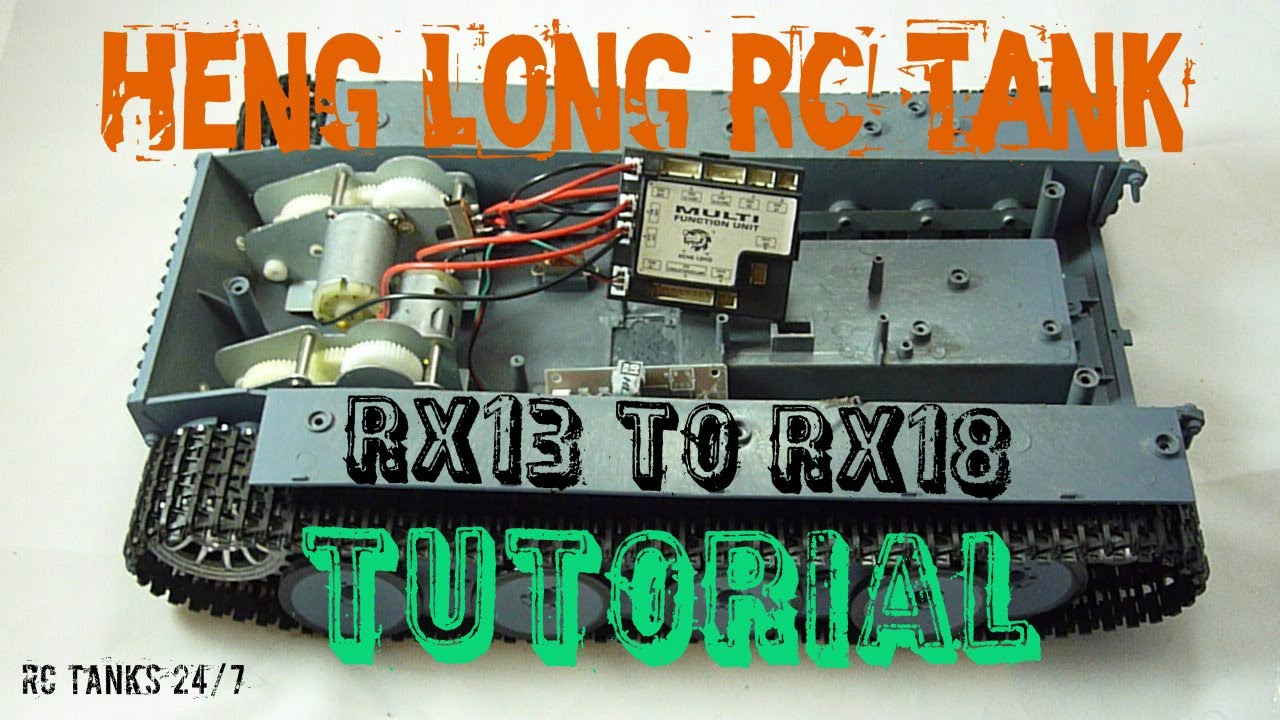 2014 Challenger Radio Wiring Diagram Heng Long Rc Tank Rx13 To Rx18 Control Board Tutorial