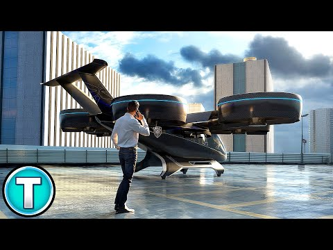 The Flying Taxi - Bell Nexus Autonomous Vehicle