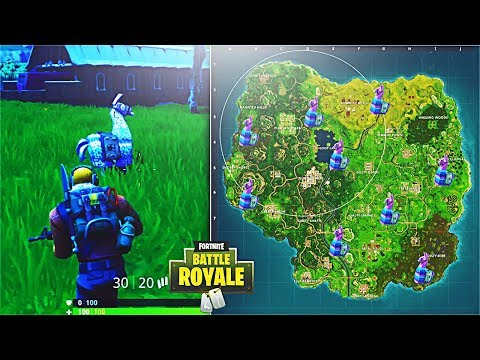 How To Find Supply Llamas In Fortnite! *NEW* Fortnite LLAMA Locations! (Fortnite Battle Royale)