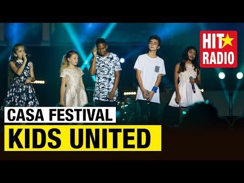 CASA FESTIVAL 2017: LES KIDS UNITED ONT UN MESSAGE POUR TOI