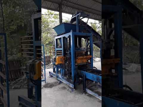 Automatic Cement Sand Brick Machine in Malaysia