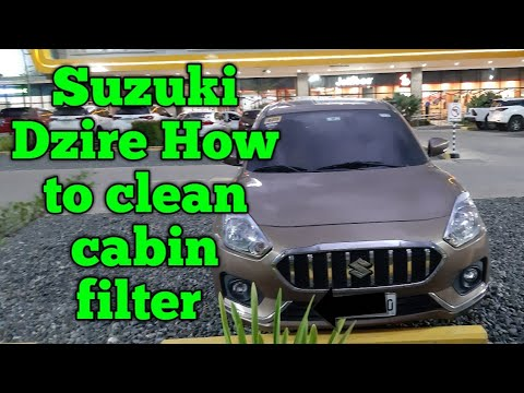 Suzuki dzire 2018 how to clean cabin filter or aircon filter