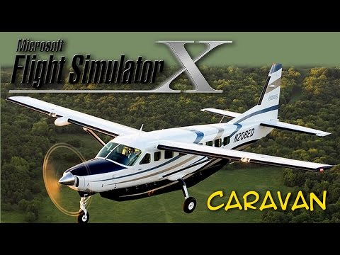 Vôo teste IFR, Cessna 208 Caravan, FSX com FaceTrackNoIR - SBPA/DCT/SBPA