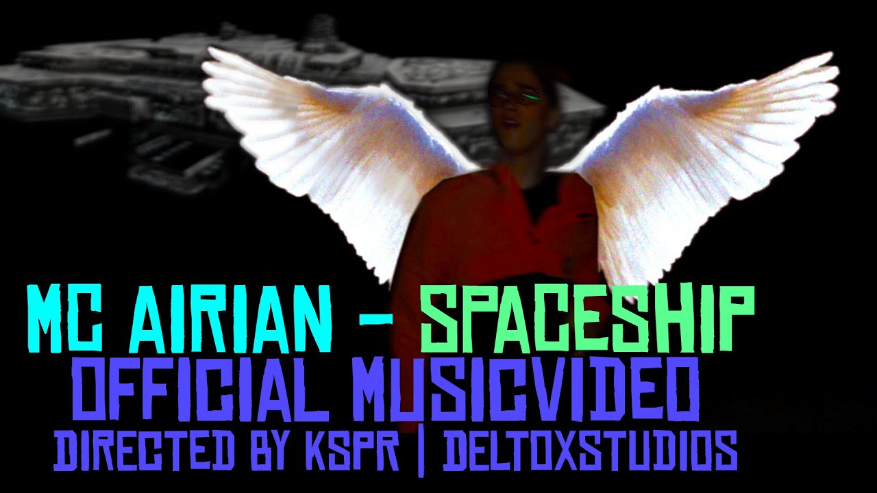 mc airian - spaceship (prod. by icerunna / directed by kspr | deltoxstudios)