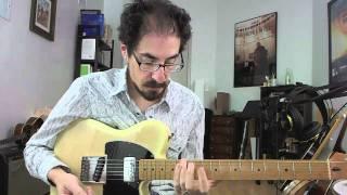 50 Jazz Blues Licks - #21 Oscar Peterson - Guitar Lesson - David Hamburger