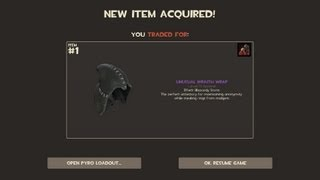 Team Fortress 2 - Unusual Wraith Wrap (Effect: Blizzardy Storm)