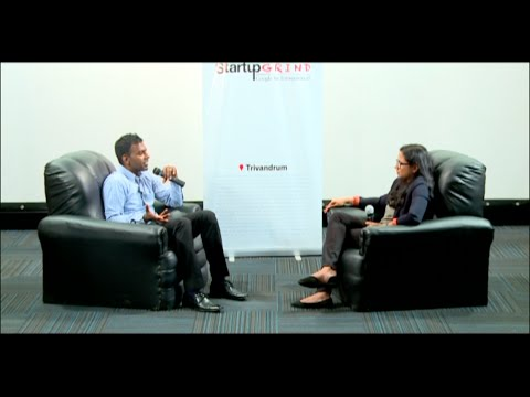 Varun Chandran (Corporate360) at Startup Grind Trivandrum