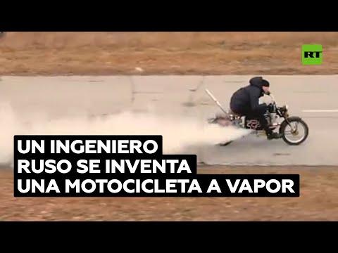Transforma una vieja motocicleta soviética en un vehículo a vapor @RT Play en Español