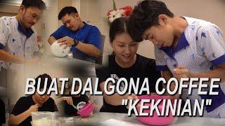 "The Onsu Family - Buat DALGONA Coffee ""Kekinian"""