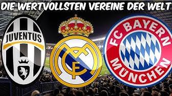 Die 10 wertvollsten Vereine der Welt 2017 | Top 10