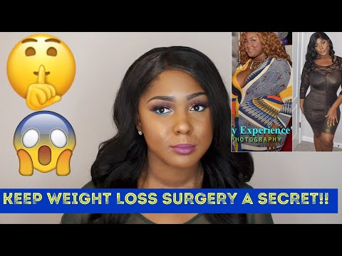 Shh Don't Tell Anyone You're Having Weight Loss Surgery