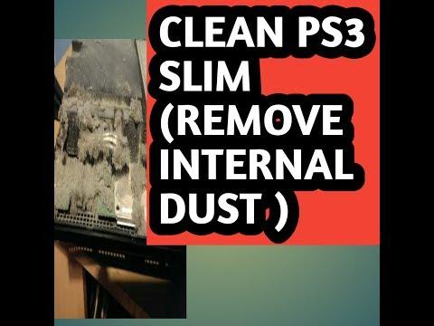 Clean PS3 Slim (remove internal dust) [HINDI]