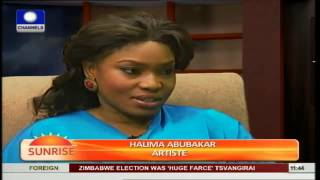 My Parents Discovered My Acting Career After 5 Years - Halima Abubakar Pt.1