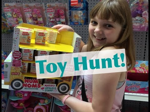 Toy Hunt in Columbia, MD! Finding Series 2 Num Noms, Charm U, Monster High Minis & More!