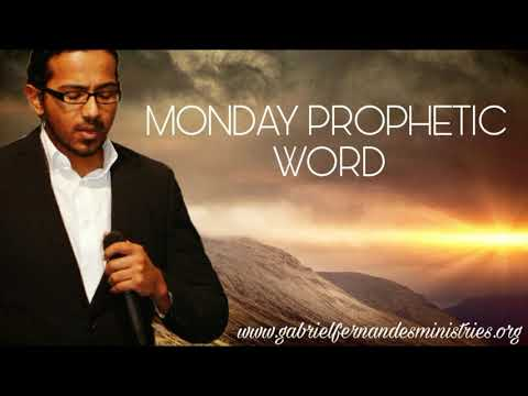 Monday Prophetic Word by Evangelist Gabriel Fernandes - Maintain Your mystery