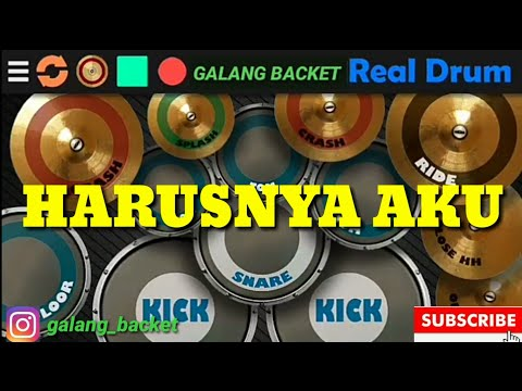 harusnya-aku-armada-(real-drum-cover-by:-galng-backet)