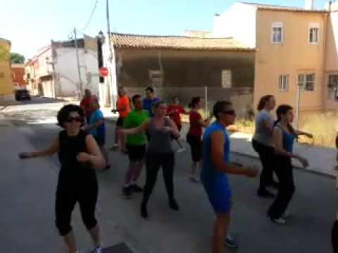 RitmoFitness con Lourdes en FitnessParty Beniarbeig 2014