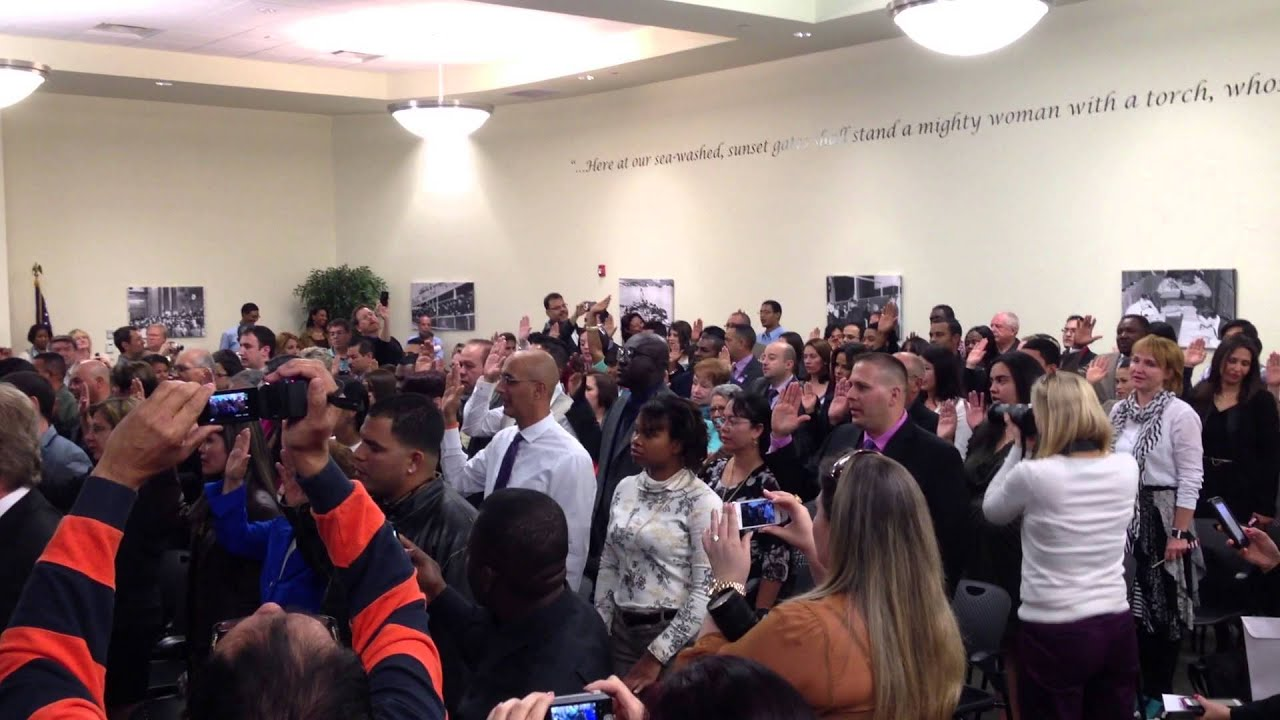 Tampa Naturalization Ceremony
